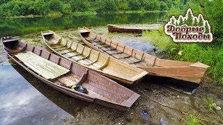 Коми лодка своими руками. Незабытая технология изготовления. Добрые походы.