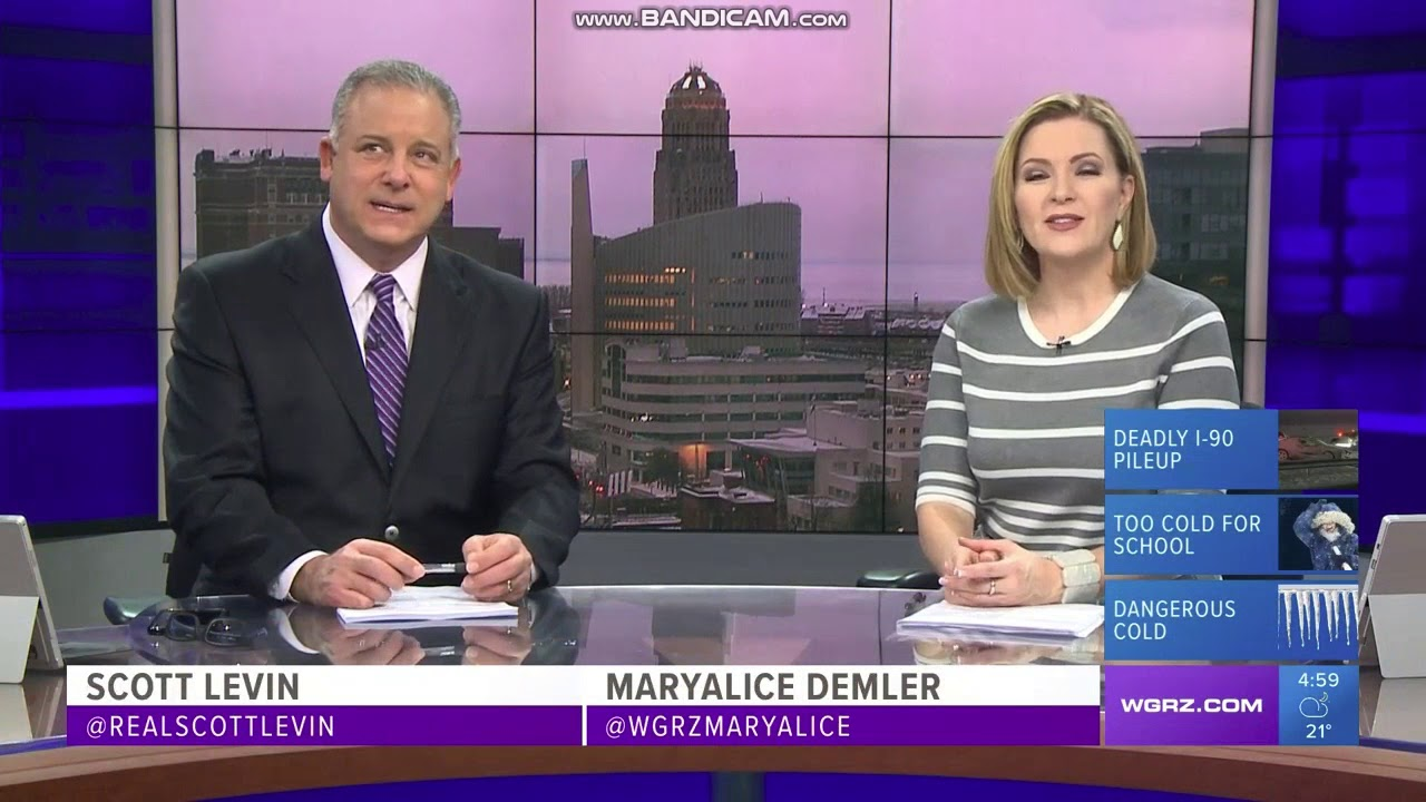 WGRZ: Channel 2 News First At 5pm Open--2018