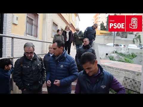 El PSOE denuncia la situación de la barriada de Fuente Terrones