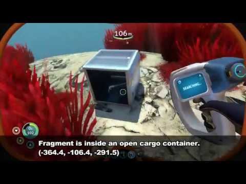 Subnautica Laser Cutter Fragments Location Youtube