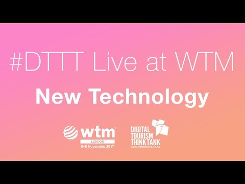 Live at WTM - New Technology in Travel