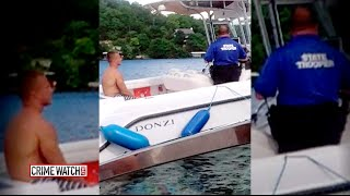 Trooper Charged with Manslaughter in Drowning Death of Handcuffed Arrestee - Crime Watch Daily