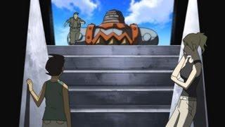 南与那国島の海底遺跡に忽然と現れた巨大ロボットはマッケンジーと彼女...