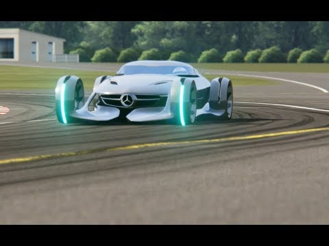 Mercedes-Benz Silver Arrow Concept Top Gear Testing