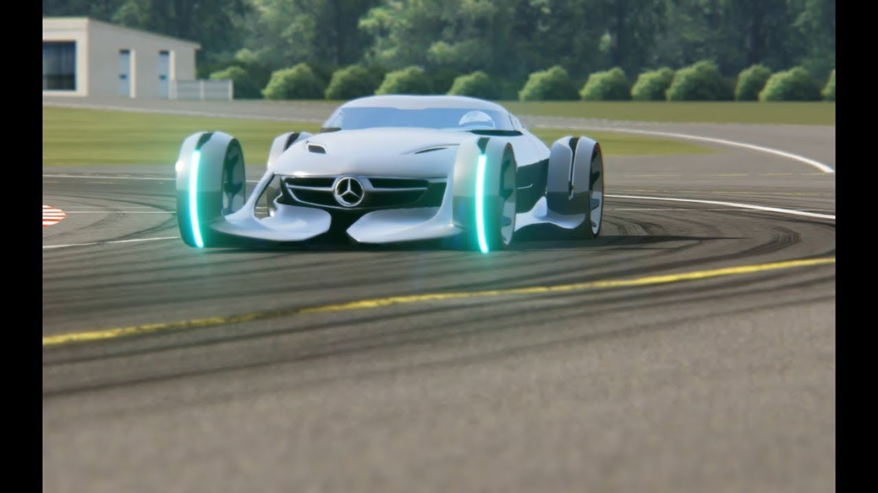 Mercedes-Benz Silver Arrow Concept Top Gear Testing & Mercedes-Benz Silver Arrow Concept Top Gear Testing - YouTube