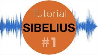 Sibelius Tutorial auf Deutsch #1 Einführung (Avid)