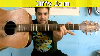 Tutorial: Jerry Reed's Jiffy Jam - Fingerstyle Lesson w/ TAB
