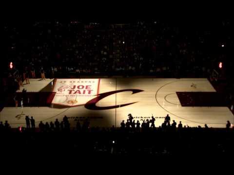 Cleveland Cavaliers PreGame 3D Court Projection