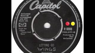 WINGS   Letting Go  1975 HQ