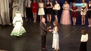 Торжественное вручение золотых и серебряных медалей выпускникам гродненских школ