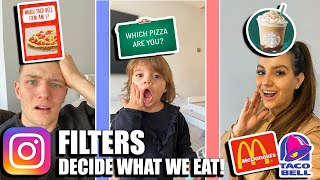 INSTAGRAM FILTERS CONTROL OUR FOODS FOR 24 HOURS!!!!
