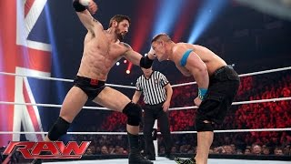 John Cena vs. Bad News Barrett – United States Championship Match: Raw, April 13, 2015