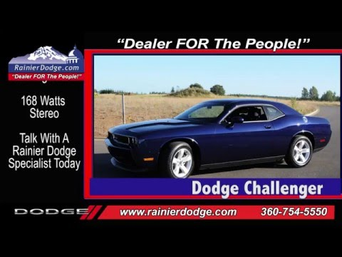 Dodge Challenger Videos Rainier Dodge Olympia - YouTube