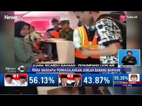 Video Balita Bawa Bagasi 7 Kg Viral, Begini Penjelasan Penumpang Lion Air - INews Siang 30/04