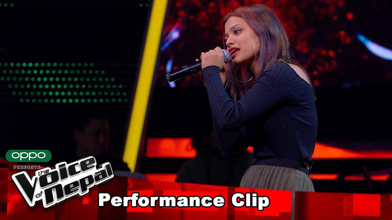 "Download Suraksha Senchury ""Jaula Relai Ma""  Blind Audition Performance   The Voice of Nepal S3"