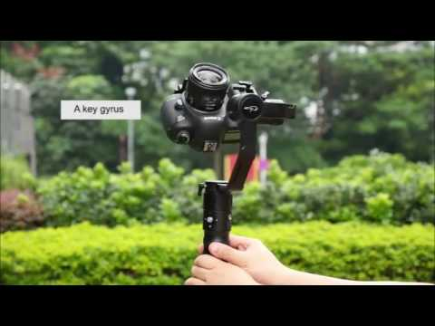 Beholder EC1 32bit 3 axis Handheld Stabilizer 360° Endless Camera Gimbal sony A7SII 5d3 A6300