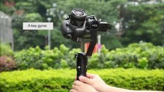 beholder ec1 32bit 3 axis handheld stabilizer 360 endless camera gimbal sony a7sii 5d3 a6300