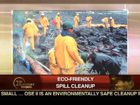 Oil Spill Eater II on 21 Century Business