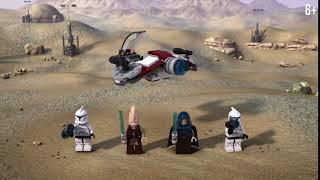 Боевой набор джедаев и клонов-пехотинцев - LEGO Star Wars - 75206