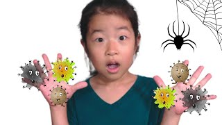 Irene and Ella Kid's Story about Viruses Kids Wash Hands and Stay Home 아엘튜브와 함께 손을 깨끗히 씻어요