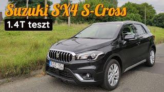 Suzuki SX4 S-Cross 1.4T teszt | Ár/érték bajnok?