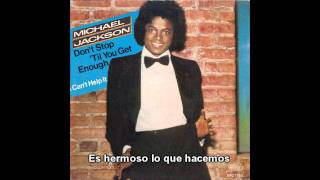 Michael Jackson Don´t Stop ´Til You Get Enough subtitulos en español