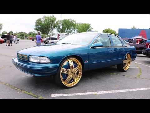 WhipAddict: 95' Chevy Impala SS on Gold DUB 26s, Custom Paint and Interior