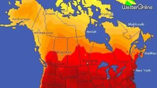 Tropenhitze in Nordamerika - Teils sogar nachts über 30 Grad