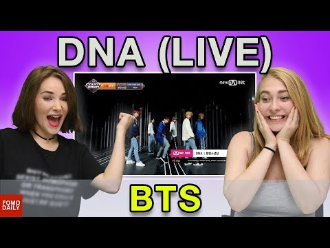 BTS DNA M COUNTDOWN • Fomo Daily Reacts