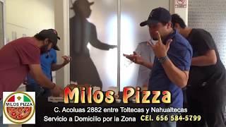 promocional de Milos Pizza