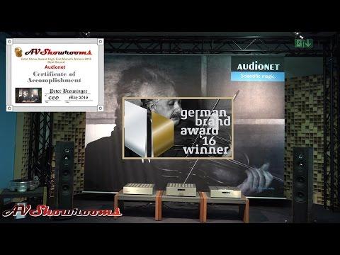 2016 German Brand Award Winner, Audionet with Hartmut Esslinger, the man who made Apple, plus a gr