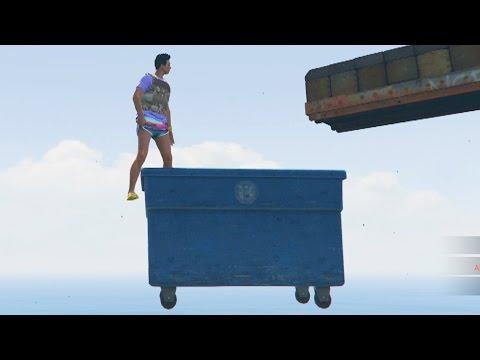 PARKOUR EXTREMO! MALA SUERTE!! - Gameplay GTA 5 Online Funny Moments (GTA V PS4)