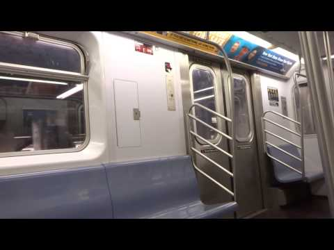 NYC Subway Late Night: On-Board R142 # 1136 On The (4) From 14th St To 125th St (VIA Local)