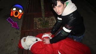 Noel Baba'yi Yakaladik !!!  Maskesini Çıkardık!
