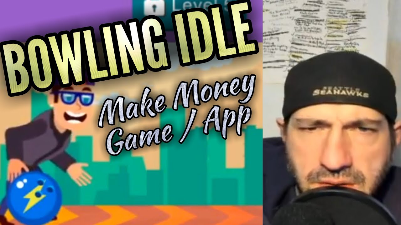 BOWLING IDLE - Make Money - Sports Games | Android / iOS Game | Review & Gameplay Youtube YT Vid