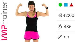 Maxi Tabata Workout:  Allenamento HIIT  Total Body + Addominali a Terra