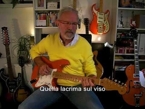 UNA LACRIMASUL VISO(Bobby Solo instr. cover)