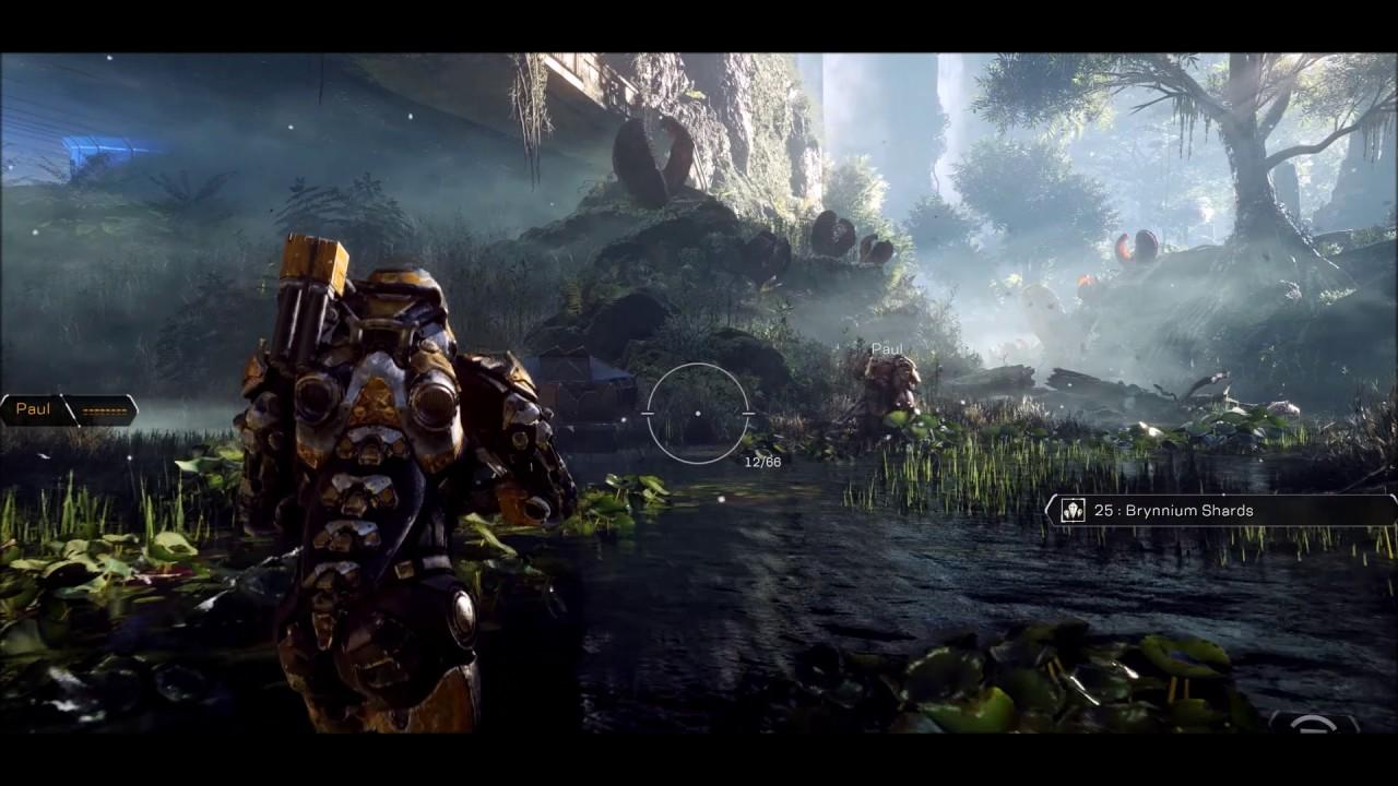 Anthem Gameplay Trailer 4k 1080p Xbox One X Youtube