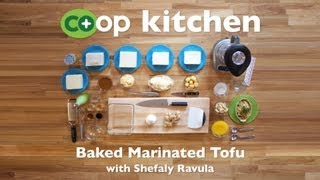 Baked Marinated Tofu: Co+op Kitchen