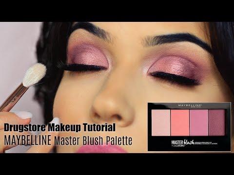 Drugstore Makeup Tutorial | Blush Palette Eye + Face & Lips | TheMakeupChair thumbnail