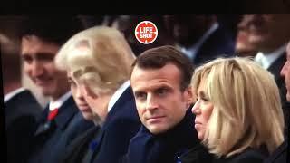 Трамплин не заметил  Порошенко  у Триумфальной арки