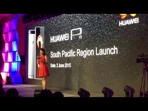 Chermaine Cho hosts Huawei P8 South Pacific Region Launch