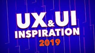 UX / UI Inspiration (From the AJ&Smart design team) 2019