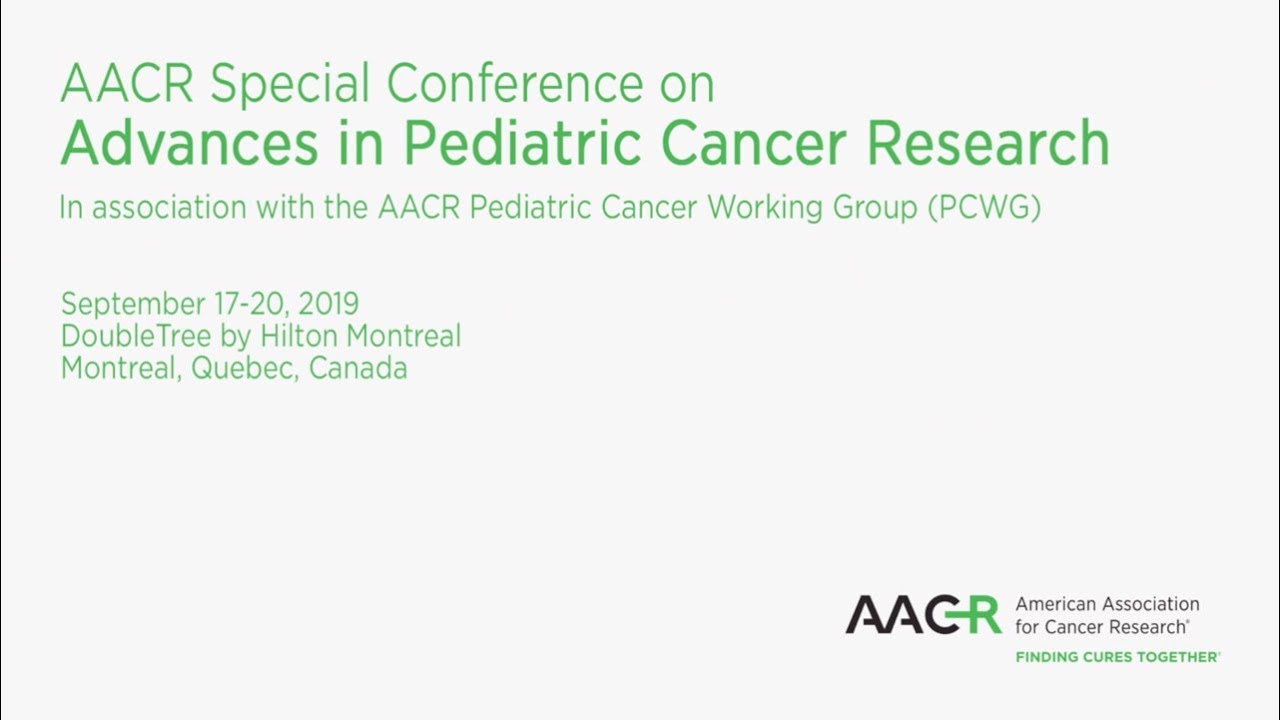Advances in Pediatric Cancer Research