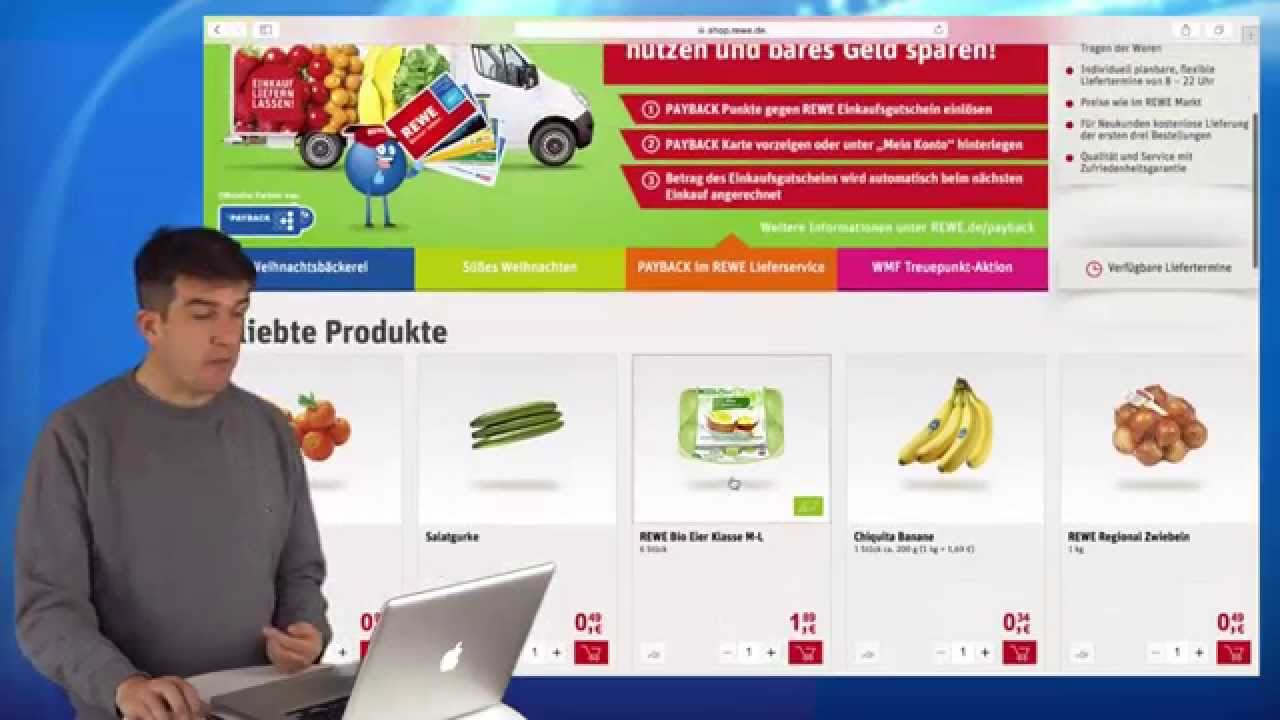 Rewe Lieferservice - YouTube