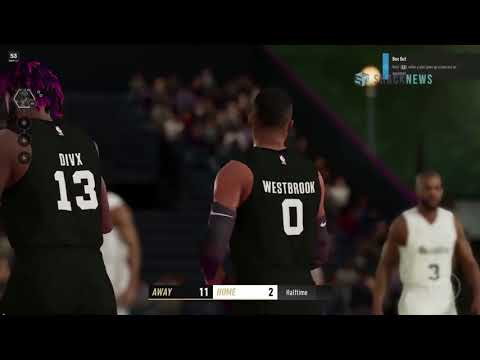 NBA LIVE 19 OFFICIAL GAMEPLAY!!!!