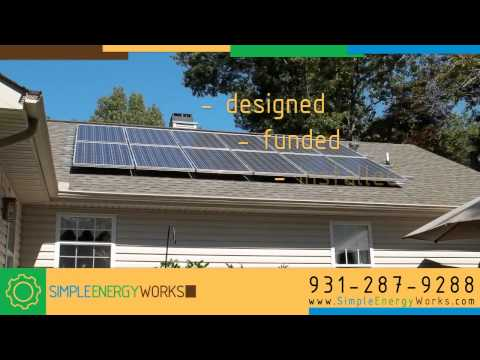 Tennessee Solar System Design & Installation by Simple Energy Works