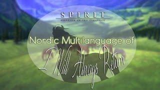 Cover images Spirit: Stallion of the Cimarron - I Will Always Return「Nordic Multilanguage」