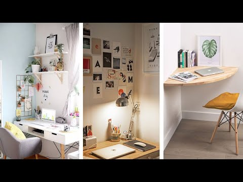 20 Super Awesome Small Bedroom Office Ideas Youtube