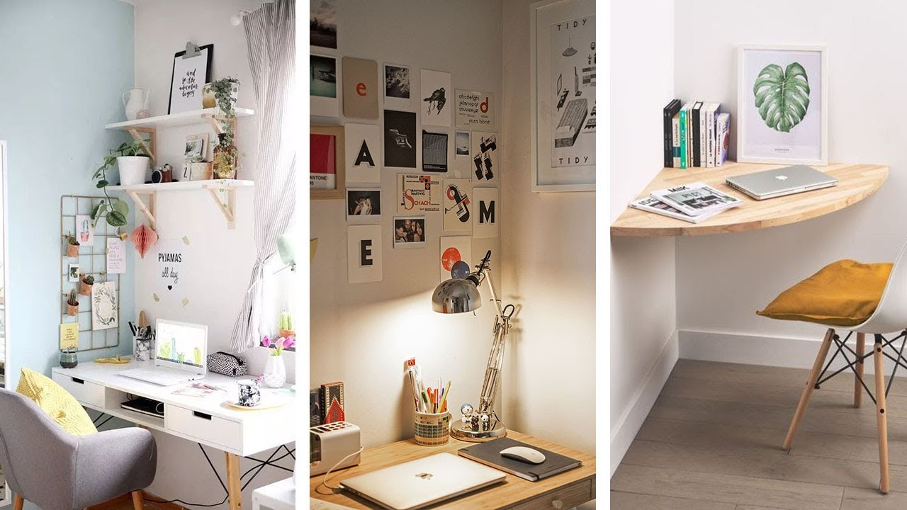 5 Super Awesome Small Bedroom Office Ideas
